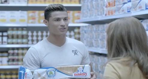 Cristiano Ronaldo desbanca a Messi como imagen de Bimbo