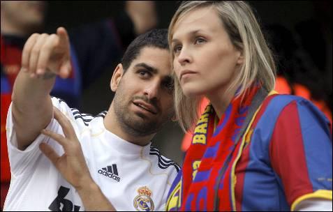 La afición del Real Madrid, la segunda más infiel de España