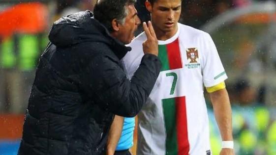 Queiroz ataca a Cristiano Ronaldo