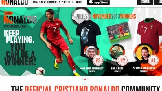 Cristiano Ronaldo lanza su propia red social
