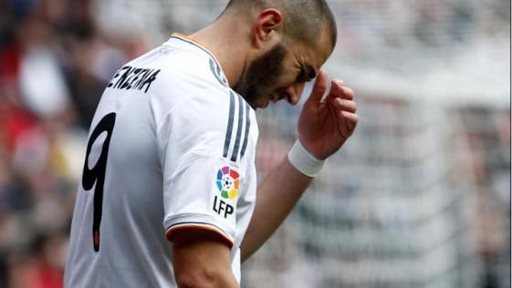 Benzema, un gol en cinco meses