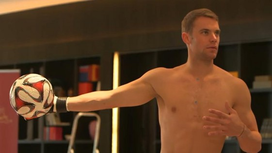 Desnudando a Neuer