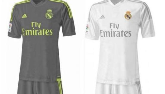 Así serán las camisetas del Real Madrid en la temporada 2015-2016