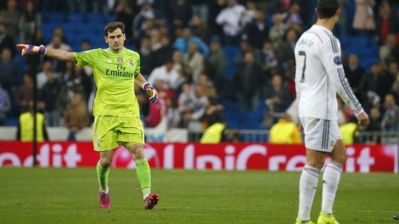 Casillas pone firme a Cristiano