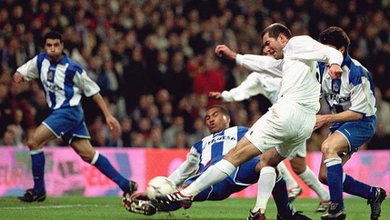 ¿El mejor gol de la carrera de Zidane?