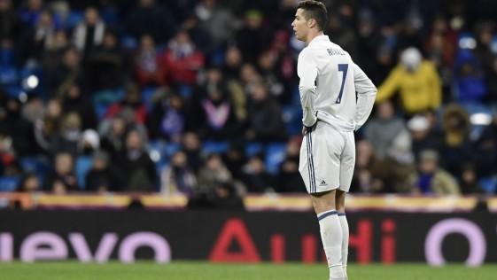 ¿Qué le pasa a Cristiano Ronaldo?