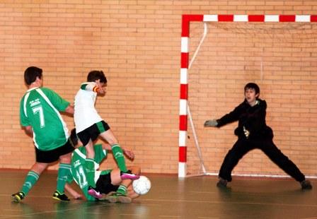 Fútbol sala: todas las categorías en segunda fase pelean por entrar en el medallero