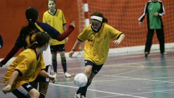 Fútbol sala: Las chicas resolverán el podio en la última jornada