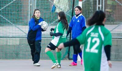 El futsal femenino vuelve en los juegos nacionales escolares EMDE 2013