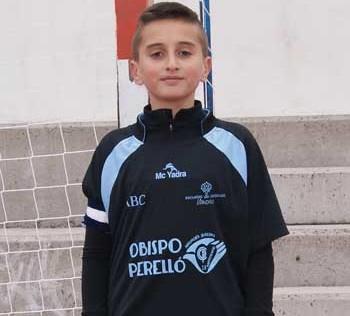 """Víctor Vaquero: """"Dedico los cuatro goles a mi familia"""""""