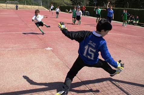 """Futsal: Los infantiles de Santa Ana y San Rafael """"C"""", ejemplo de empatía y """"fair play"""""""