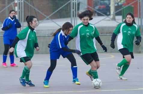 """Futsal: Claret """"A"""" y """"B"""" líderes en la categoría cadete femenina"""