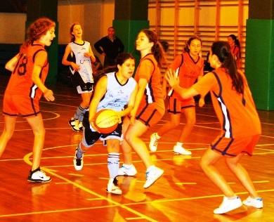 Baloncesto: Doble representación de los benjamines de San Patricio Serrano y Santa María del Pilar en la fase final