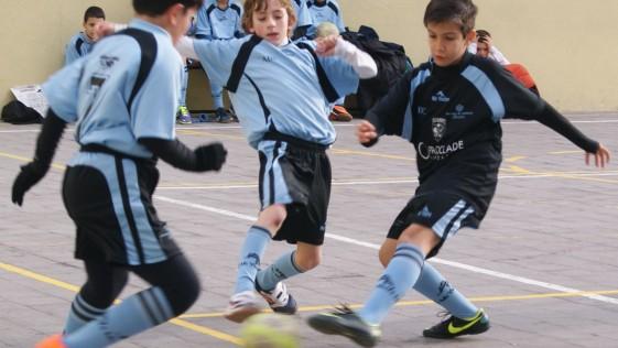 Fútbol sala: benjamín, alevín e infantil masculino a una jornada para el cambio de fase