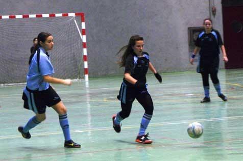 Futsal: Las chicas de Sagrado Corazón de Jesús de Gutenberg se distancian de sus perseguidoras