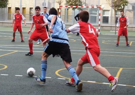 Inmaculada Concepción (futsal) y Claret (baloncesto) consiguen la victoria