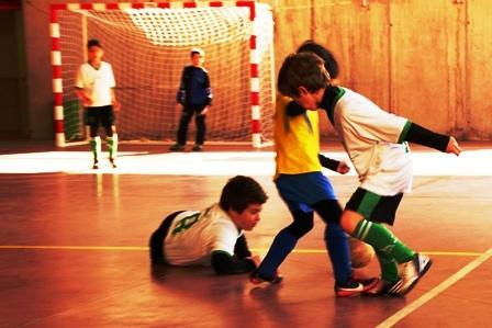 """Futsal: los benjamines de Santo Ángel de la Guarda """"B"""" se ganan el pase a la final"""