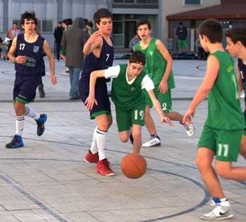 Baloncesto: Maristas Chamberí vs San Patricio Soto