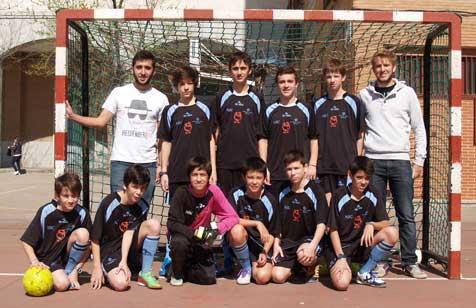 "Futsal: Salesianos Atocha ""B"" vs Sagrados Corazones"