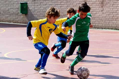"""Futsal: Los alevines e infantiles de Mater Immaculata """"A"""" se mantienen en el podio"""