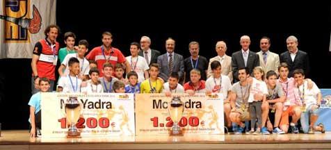 Clausura Juegos EMDE infantiles: Corazón de María de Asturias, premio Valores Humanos