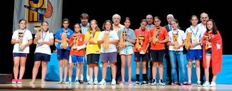 Finalizan los Juegos Nacionales Escolares Alevines