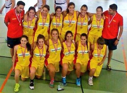 Oro y bronce para el baloncesto en los Juegos FISEC 2014