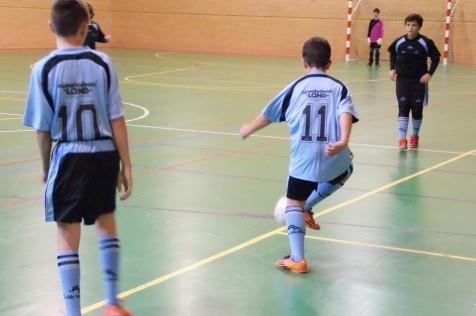 "Futsal: Merecido empate entre Amor de Dios ""B"" y Mater Immaculata ""A"""