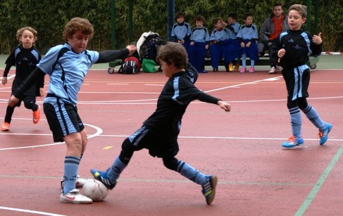 Futsal: Jornada de triunfos para los prebenjamines de Santa María del Pilar