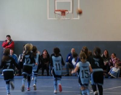 Baloncesto: Menesiano A vs Sagrada Familia Jorge Juan