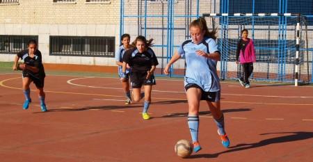 Futsal femenino: Magnífico encuentro ganado por Nuestra Señora de los Ángeles