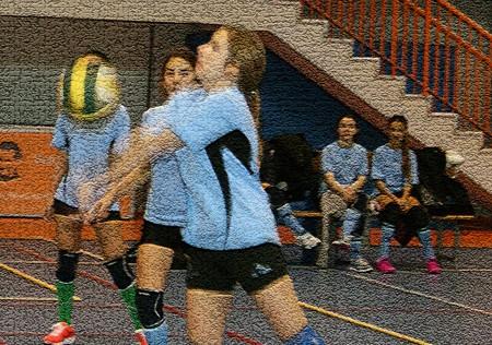 Voleibol: Las Nieves acapara el éxito
