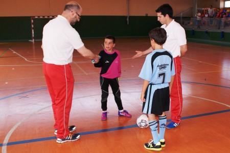 Futsal benjamín y alevín