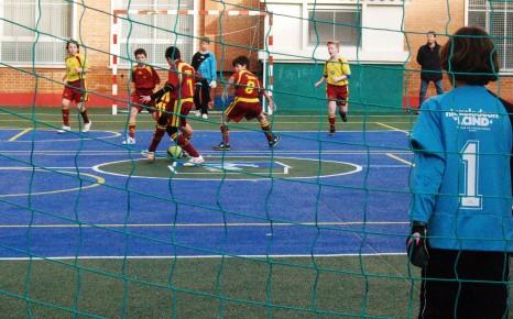 Futsal: Vedruna Inter FS A prebenjamín, en cabeza