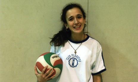 """Claudia Molina: """"El voleibol es un descanso en los estudios"""""""