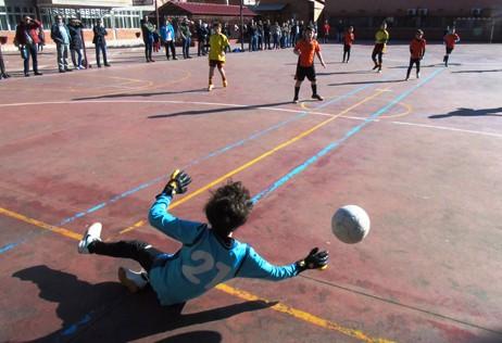Futsal: Santo Ángel, Mater y S Corazones, líderes benjamines