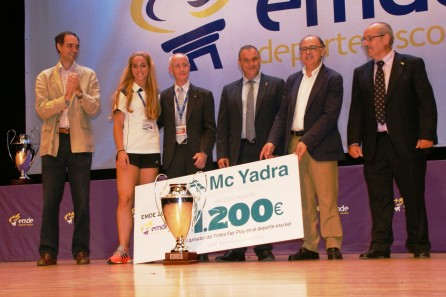 "Rocío Roldán, entrenadora de Claret de Sevilla, premio ""Fair Play"""