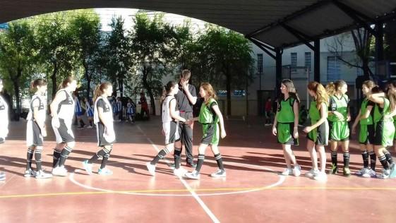 Baloncesto: Doblete de las cadetes de Mirasierra