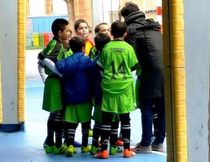 Futsal: los pequeños de la liga cierran la primera fase