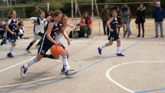 Baloncesto femenino: Bernadette – San Patricio Serrano «A»