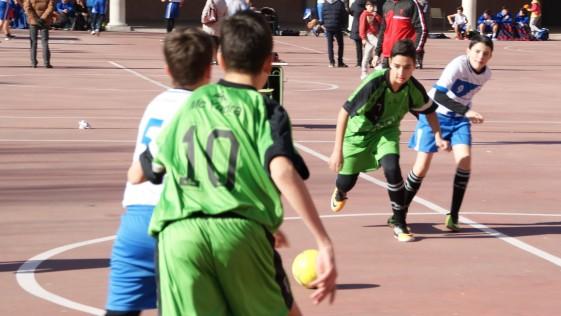 """Las mejores imágenes del partido entre Salesianos Atocha """"C"""" y Salesianos Carabanchel"""