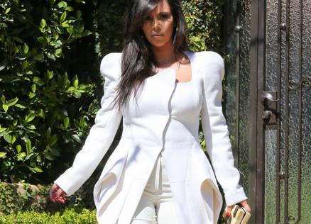 Lo que Kim Kardashian entiende por ropa pre-mamá