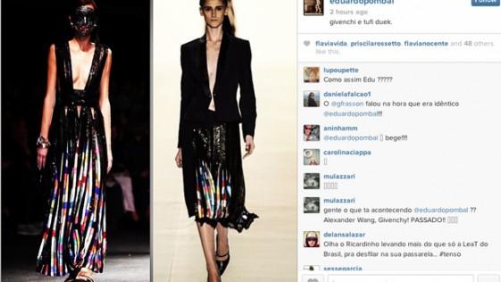 La falda clon de Givenchy