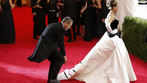 Celebrities en apuros sobre la «red carpet»