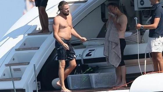 DiCaprio ha engordado y no (le) importa