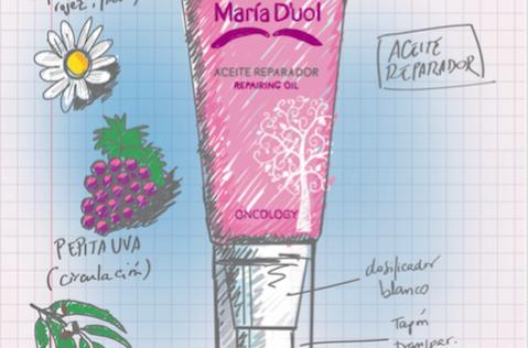 Maria D'uol y Oncosmétics, cremas ¡españolas! para pacientes con cáncer