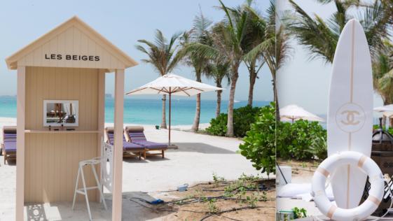 ¿Quedamos en el Chiringuito de Chanel en la playa?