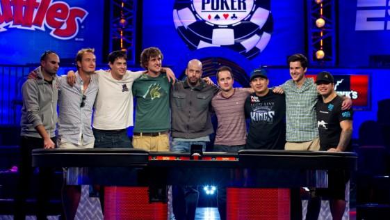 WSOP 2013: un novato y ocho profesionales se reparten 26 millones