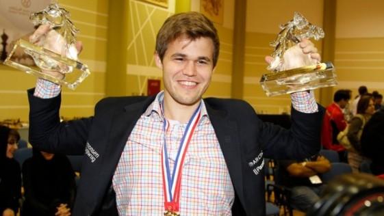 Carlsen, verdugo del tiempo