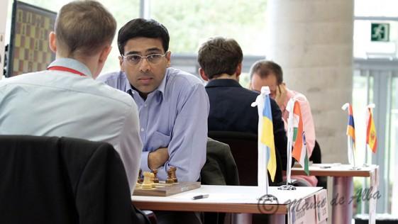 Anand se hace fuerte en Bilbao a siete semanas del Mundial